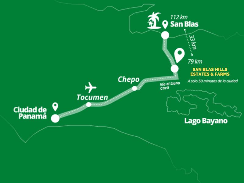 Ubicacion San Blas Hills Estates and Ranches